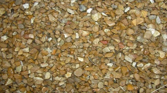 goldfish gravel
