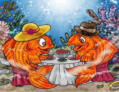 What Do Goldfish Eat? - Goldfish Like To Eat - Feeding Goldfish