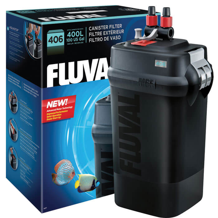 Fluval 406 Canister Filter Goldfish Filters