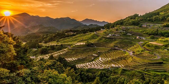 landscape of japan