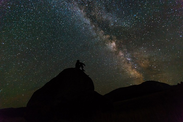 night time stars