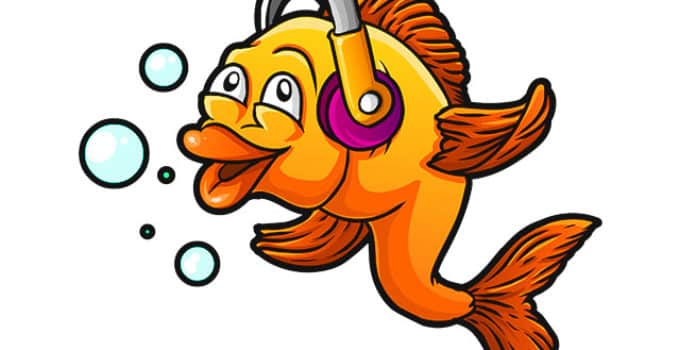 can goldfish hear sounds