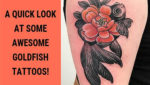 A Quick Look at Some Awesome Goldfish Tattoos!