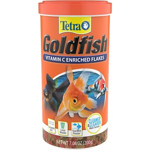 TetraFin Goldfish Vitamin C-Enriched Flake Food